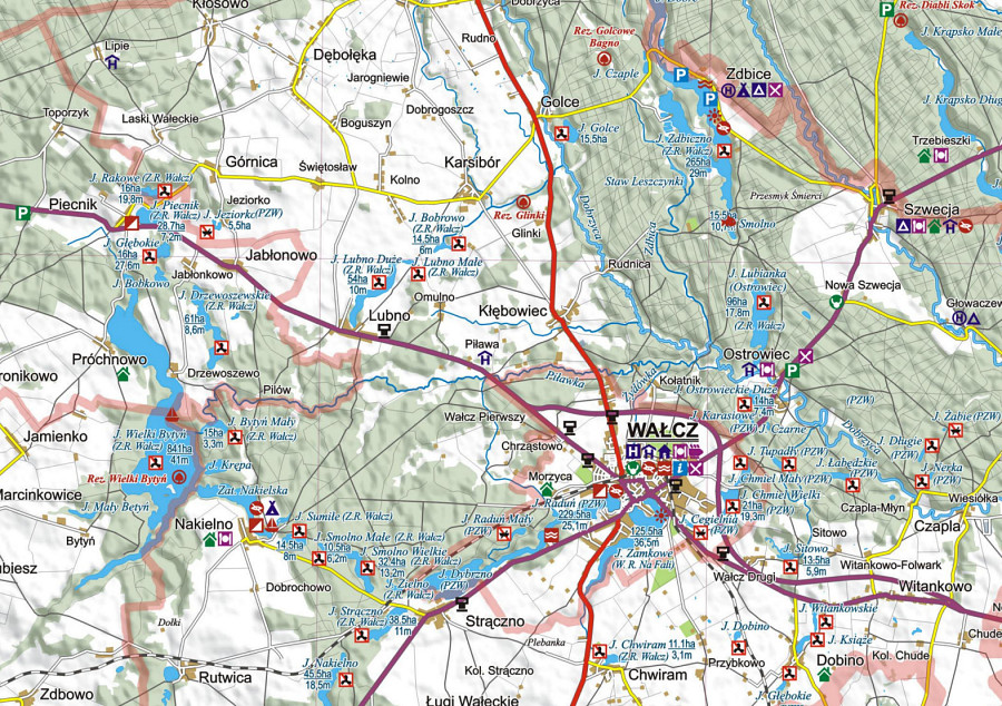 Na Ryby Z Mapa Wedkarska Atlas Jezior Polski